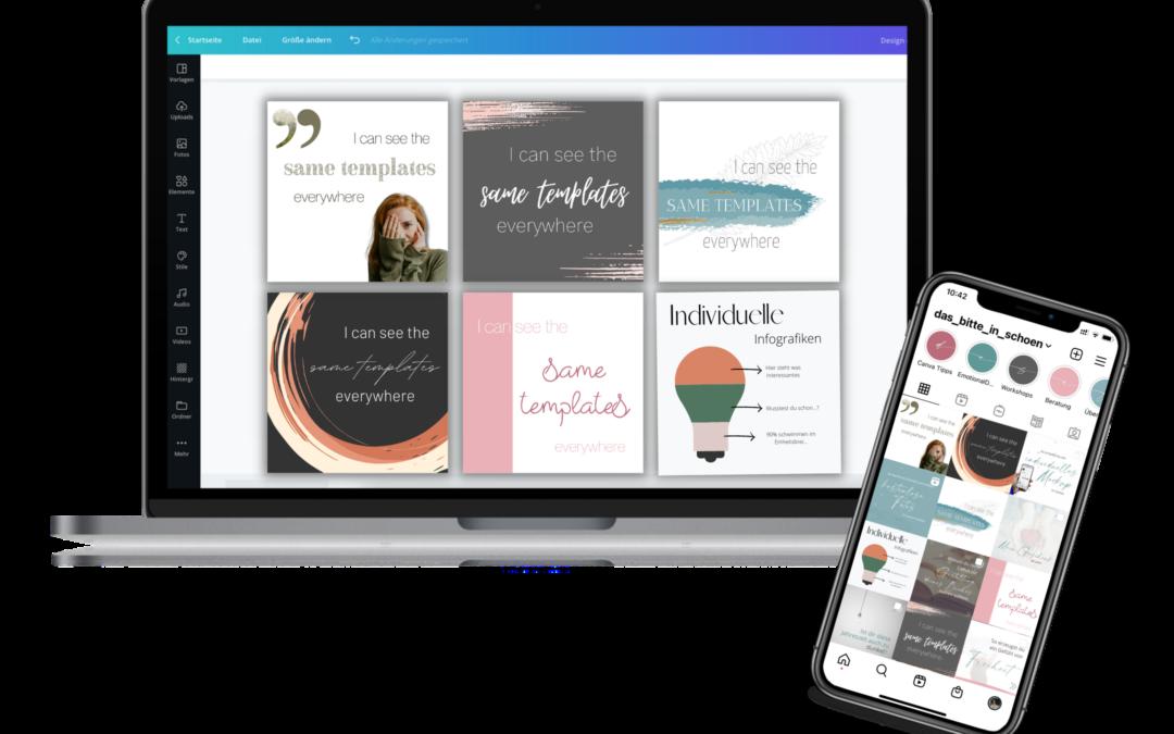 Create your unique Social Media Templates Workshop